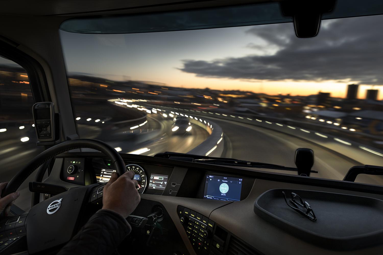Sistema infotainment Volvo Trucks